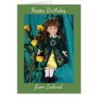 Happy birthday from Ireland card