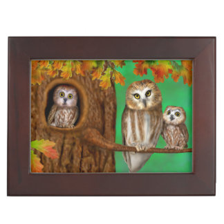 Happy Birthday from Owl of us! Keepsake Box