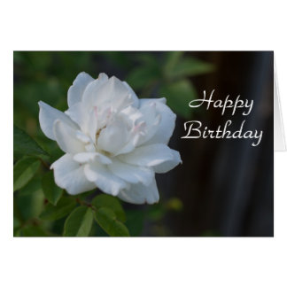 Happy Birthday Gardenia Card