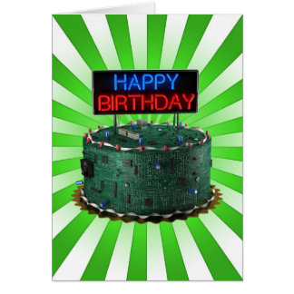 Happy Birthday, Geek Card