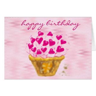 happy birthday giant cupcake cards