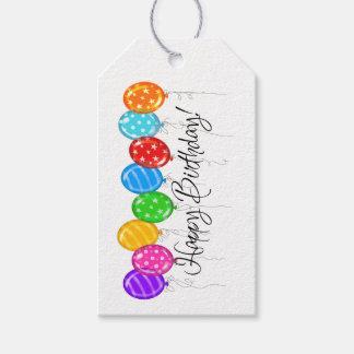 Happy Birthday Gift Tag - SRF