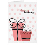 Happy Birthday Girl Greeting Cards