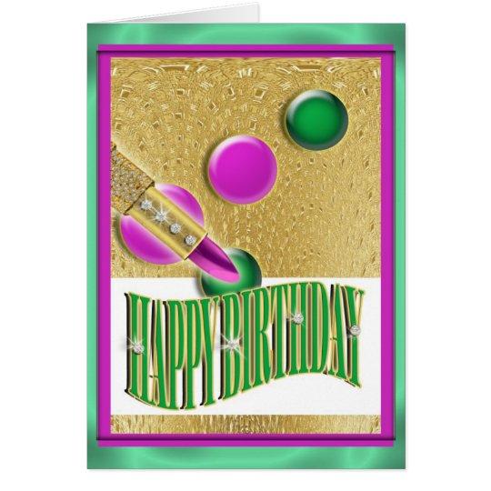 """Happy birthday"" girls women Card"