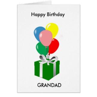 Happy Birthday Grandad Card