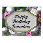 Happy Birthday Grandma Post Cards