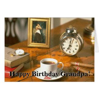 Happy Birthday Grandpa 1 Greeting Cards