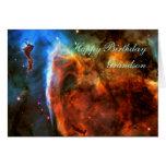 Happy Birthday Grandson - Keyhole Nebula