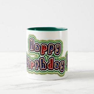 Happy Birthday! Groovy Mug