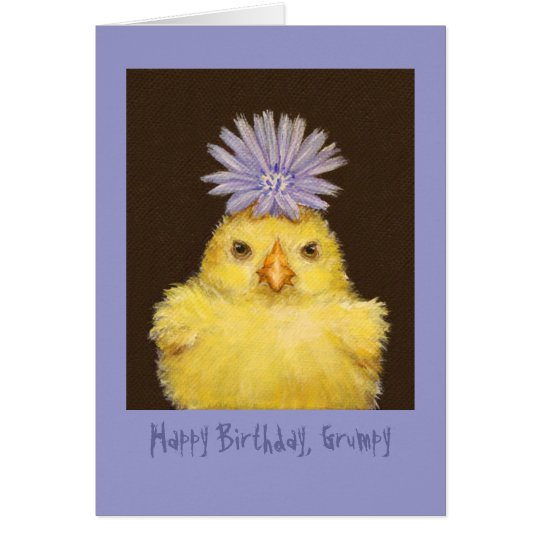 Happy Birthday Grumpy card