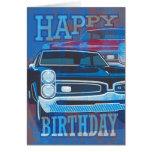 Happy Birthday GTO Cars Greeting Cards