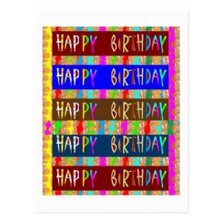 HAPPY BIRTHDAY  HappyBirthday Cards ReturnGIFTS Postcard