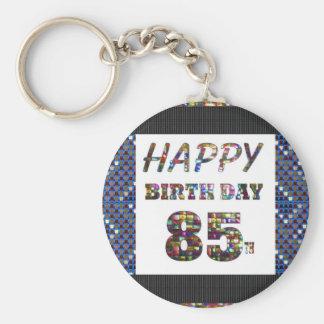 happy birthday happybirthday  designs basic round button key ring