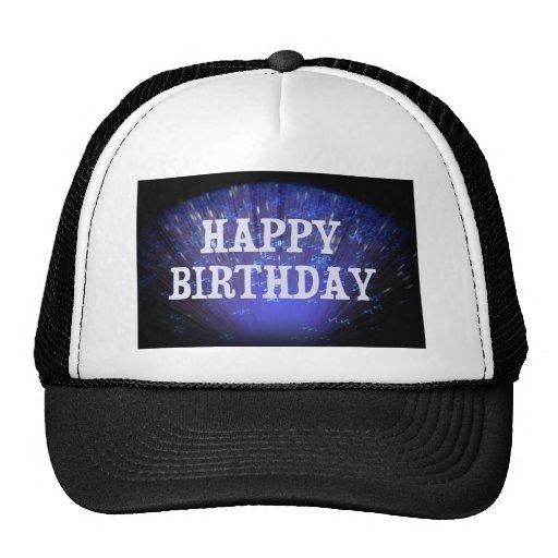 HAPPY BIRTHDAY MESH HATS