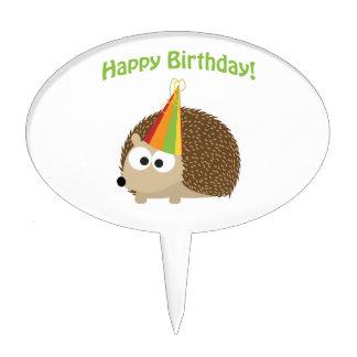 Happy Birthday! Hedgehog Cake Pick