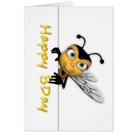 Happy Birthday Honey Bee - Happy BDay Card