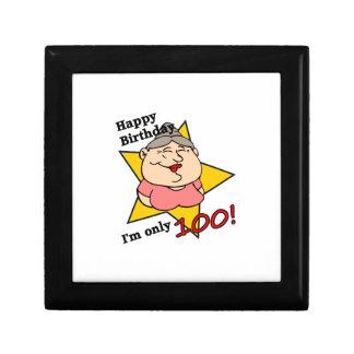 Happy Birthday - I'm only 100! Keepsake Box