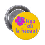 Happy Birthday In Hawaiian Pin