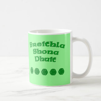 Happy Birthday In Irish Basic White Mug