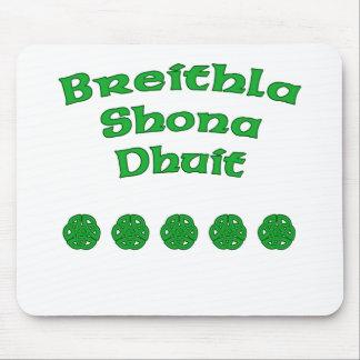 Happy Birthday In Irish Mouse Pad