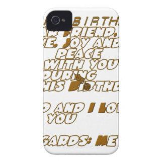 Happy Birthday iPhone 4 Case