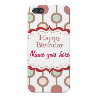 Happy Birthday iPhone 5 Cases