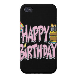 Happy Birthday iPhone 4 Case