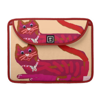 Happy Birthday January Red Kitty macbook air sleev MacBook Pro Sleeve