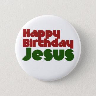 Happy Birthday Jesus 6 Cm Round Badge