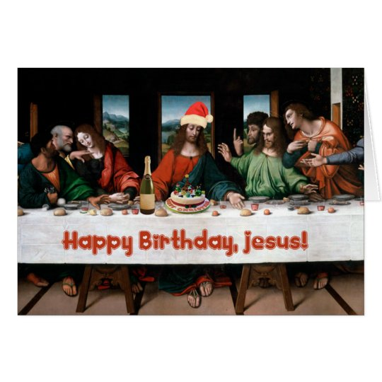 Happy Birthday, Jesus! Card