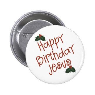 Happy Birthday Jesus Christmas Gift Pins