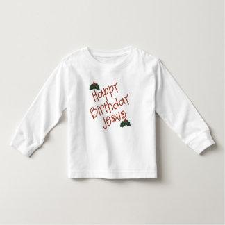 Happy Birthday Jesus Christmas Gift Tee Shirts