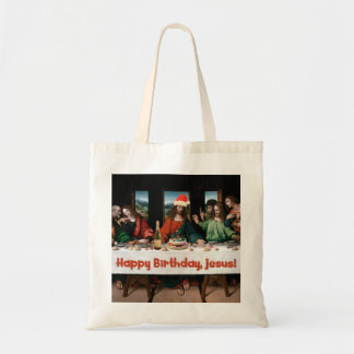 Happy Birthday, Jesus! Budget Tote Bag