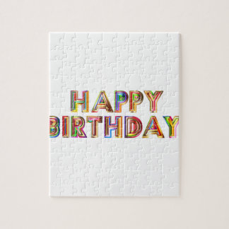 Happy Birthday Jigsaw Puzzle