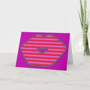 Happy Birthday Kiss IOU Wishes Card