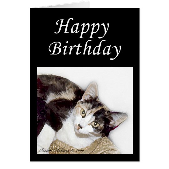 Happy Birthday Kitty Card