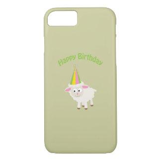 Happy birthday Lamb iPhone 7 Case