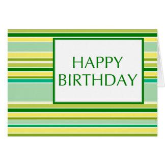 happy birthday (lemonLime) Greeting Card