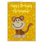 Happy Birthday Little Monkey
