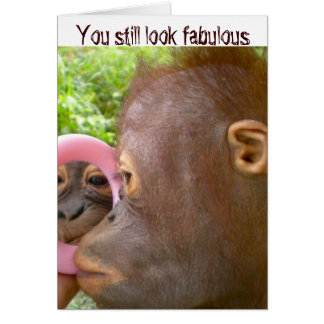 Happy Birthday Looking Fabulous Card