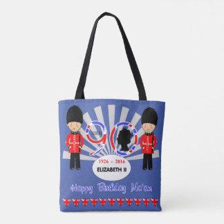Happy Birthday Ma'am Queen Elizabeth II 90th Tote Bag