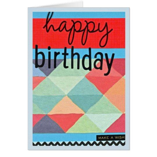 Happy Birthday, Make A Wish Card