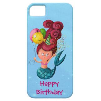 Happy Birthday Mermaid iPhone 5 Covers