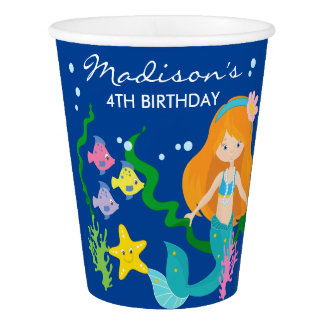 Happy Birthday Mermaid | Under The Sea