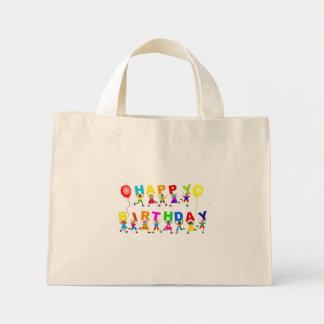 Happy Birthday Mini Tote Bag