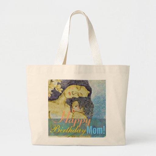 Happy birthday mom  artistic mother and child bags