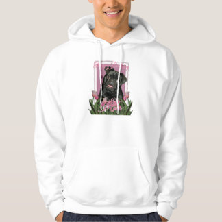 Happy Birthday Mom - Pug - Ruffy Hoodie