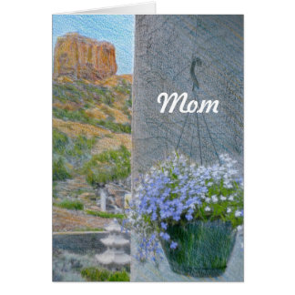 Happy Birthday Mom Template Card