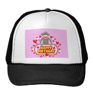Happy Birthday Monkey. Cap