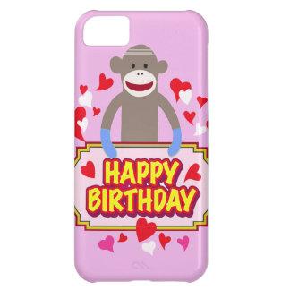 Happy Birthday Monkey Cover For iPhone 5C